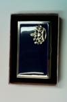 Визитница 4146 Корона синяя